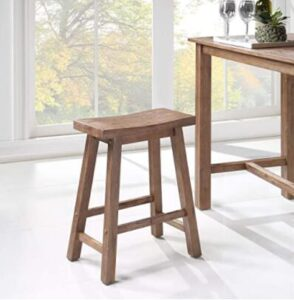 pottery barn saddle stool