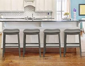 saddle counter height bar stools