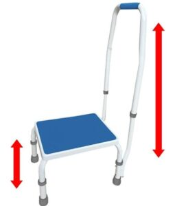 removable step stools for elderly