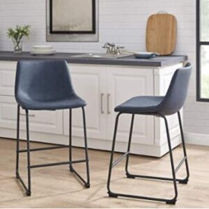 powder blue bar stools