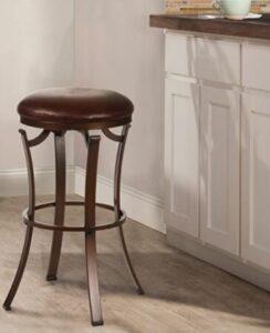 compact bronze bar stools