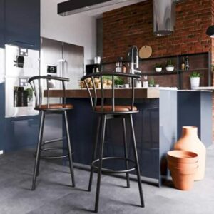 mid back bar stools