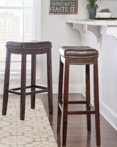commercial use padded bar stools