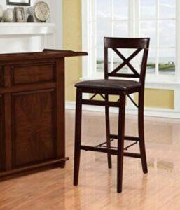 foldable wooden bar stools