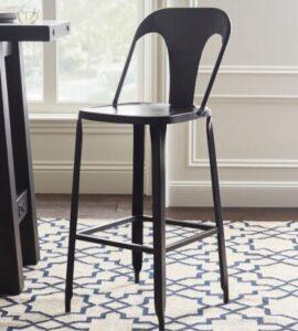 bronze metal counter stools
