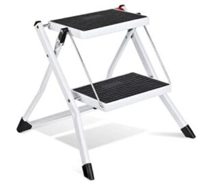 2 step folding step stools