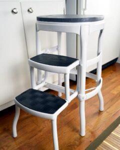 restoring old vintage step stools