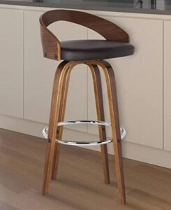 wooden round bar stools