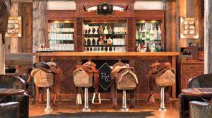 saddle seat bar stools