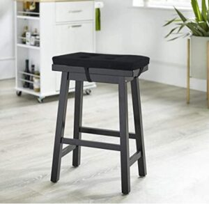 backless saddle bar stools