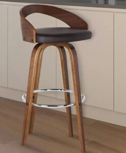 padded bar stools with backs and arms