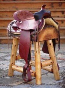 saddle seat bar stools diy
