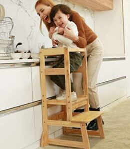 kids adjustable height learning tower