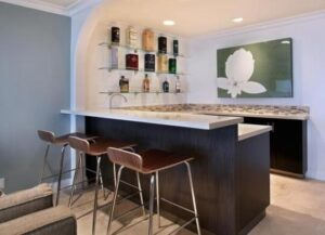 choose colors of bar counter
