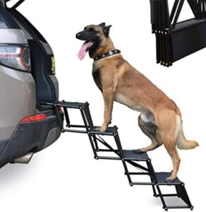 foldable dog step stools for cars