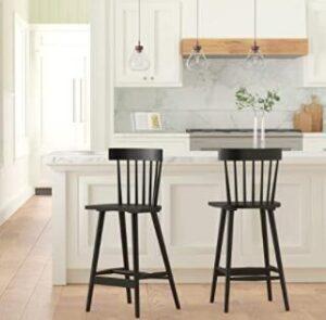 mid back classic bar stools
