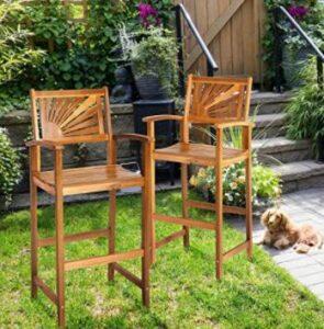 outdoor classic bar stools