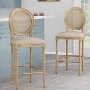 best white classic bar stools