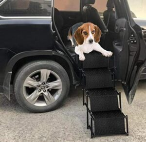 compact dog step stools for cars