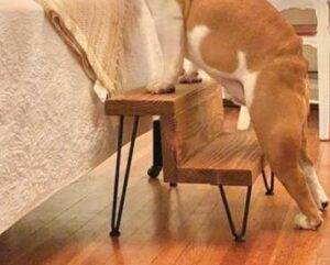 wooden step stools for small dogs