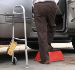 elderly use vehicle step stools